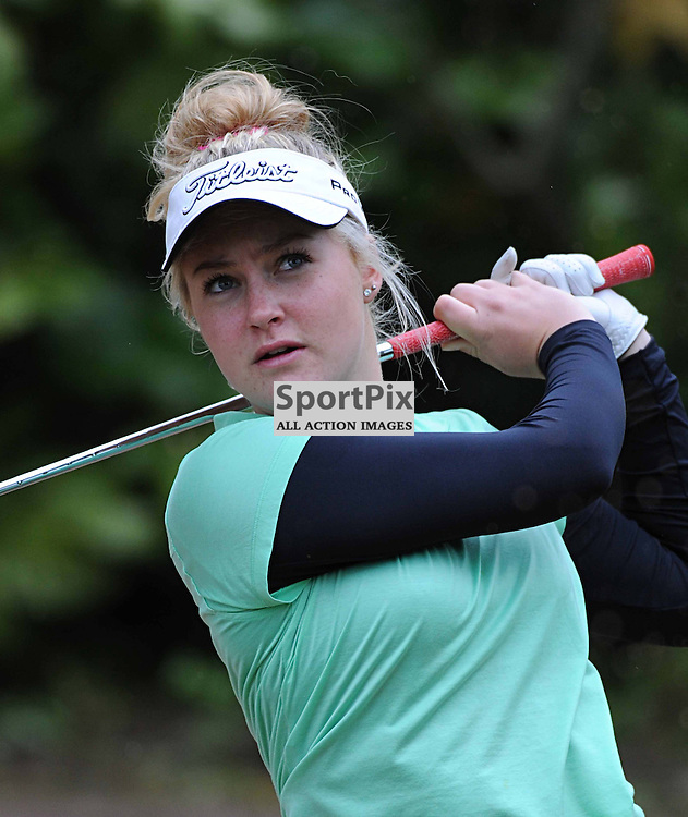 CHARLIE HULL (20/3/76) 17 Year Old Proffesional Golfer from Kettering Northamptonshire, Achieved Succes in 2013 making Debut in The Ladies European Tour, Winning Rookie of the Year and becoming the Youngest Competitor to participate in the Interntional Solheim Cup.<br /> Nominated for BBC Young Sports Personality of the year