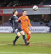 Dundee's Craig Wighton made his return to Dundee colours after a loan spell at Brechin City, also in picture is Kilmarnock's Ross Barbour -  Dundee v Kilmarnock, SPFL Premiership at Dens Park <br /> <br /> <br />  - &copy; David Young - www.davidyoungphoto.co.uk - email: davidyoungphoto@gmail.com