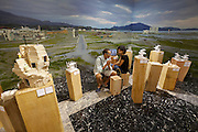 """13th Biennale of Architecture..Giardini..Japanese Pavillion..""""Architecture. Possible here? Home-for-All"""""""