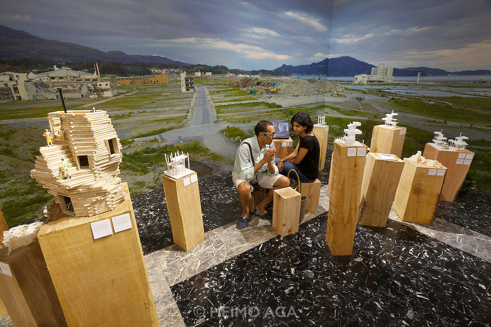 "13th Biennale of Architecture..Giardini..Japanese Pavillion..""Architecture. Possible here? Home-for-All"""