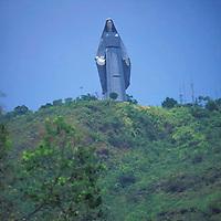 Monumento de La Virgen de La Paz, Trujillo, Edo. Trujillo, Venezuela.