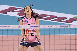 10-04-2016 ITA: CEV DenizBank Champions League  - VakıfBank Istanbul - Pomi Casalmaggiore, Montichiari<br /> Valentina Tirozzi of Pomi' Casalmaggiore<br /> <br /> ***NETHERLANDS ONLY***