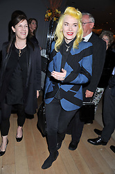 Right, PAM HOGG at an after party following the first night of Dr Dee: An English Opera,  an opera created by theatre director Rufus Norris and musician and composer Damon Albarn held at St.Martin's Lane Hotel, St.Martin's Lane, London on 25th June 2012.