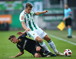 28.10.2018, Allianz Stadion, Wien, AUT, 1. FBL, SK Rapid Wien vs FC Flyeralarm Admira, 12. Runde, im Bild Wilhelm Vorsager (FC Flyeralarm Admira) und Stefan Schwab (SK Rapid Wien) // during Austrian Football Bundesliga Match, 12th Round, between SK Rapid Vienna and FC Flyeralarm Admira at the Allianz Arena, Vienna, Austria on 2018/10/28. EXPA Pictures © 2018, PhotoCredit: EXPA/ Thomas Haumer