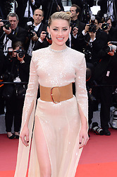 May 15, 2019 - WORLD RIGHTS.Cannes, France, 15.05.2019, 72th Cannes Film Festival in Cannes. The 72th edition of the film festival will run from May 14 to May 25. .''Les Miserables'' Red Carpet .NZ. Amber Heard .Fot. Radoslaw Nawrocki/FORUM (FRANCE - Tags: ENTERTAINMENT; RED CARPET) (Credit Image: © FORUM via ZUMA Press)