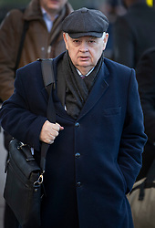 © Licensed to London News Pictures. 28/01/2019. London, UK. Former Conservative Chancellor of the Exchequer Lord Norman Lamont walks near Parliament. Photo credit: Peter Macdiarmid/LNP