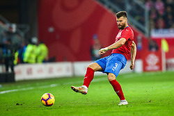 November 15, 2018 - Gdansk, Poland - Ondrej Celustka of Czech Republic during the international friendly soccer match between Poland and Czech Republic at Energa Stadium in Gdansk, Poland on 15 November 2018. (Credit Image: © Foto Olimpik/NurPhoto via ZUMA Press)