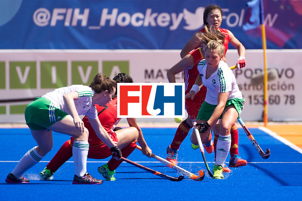 RIO 2016 Olympic qualification, Hockey, Women, quarterfinal, Ireland vs China : Chloe Watkins