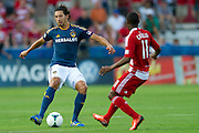 FRISCO, TX - AUGUST 11:  Omar Gonzalez #4 of the Los Angeles Galaxy controls the ball against FC Dallas on August 11, 2013 at FC Dallas Stadium in Frisco, Texas.  (Photo by Cooper Neill/Getty Images) *** Local Caption *** Omar Gonzalez