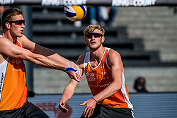 07-09-2018 NED: King of the Court, Utrecht<br /> 5 teams play in 3 rounds for the title 'King of the Court / Jasper Bouter #2 NED, Christiaan Varenhorst #1 NED