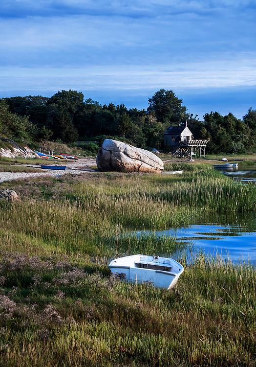 Coastal scenic, Roberts Cove, Orleans, Massachusetts, USA.