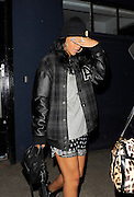 20.JUNE.2012. LONDON<br /> <br /> RIHANNA STEPS OUT IN LONDON WEARING A T-SHIRT WITH C**T LIFE AND GUNS HAND WRITTEN ON THE FRONT TO GO TO VARIOUS STUDIOS. SHE STARTED HER EVENING AT THE BISCUIT FACTORY STUDIO IN SOUTH LONDON WHERE SHE WAS 'TOUCHED' BY FANS, BEFORE HEADING TO 'SARM STUDIOS' IN NOTTING HILL UNTIL 2AM AND THEN FINALLY ONTO 'POWER HOUSE STUDIOS' IN CHISWICK, BEFORE RETURNING BACK TO HER HOTEL.<br /> <br /> BYLINE: EDBIMAGEARCHIVE.CO.UK<br /> <br /> *THIS IMAGE IS STRICTLY FOR UK NEWSPAPERS AND MAGAZINES ONLY*<br /> *FOR WORLD WIDE SALES AND WEB USE PLEASE CONTACT EDBIMAGEARCHIVE - 0208 954 5968*
