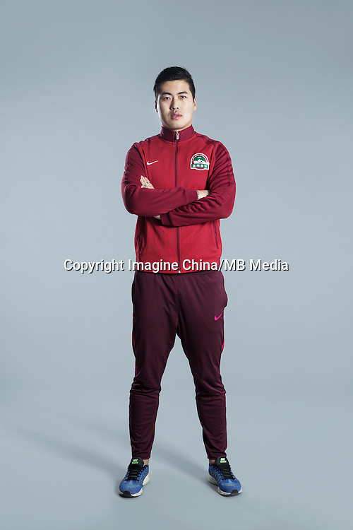 Portrait of Chinese soccer player Wen Zhixiang of Henan Jianye F.C. for the 2017 Chinese Football Association Super League, in Zhengzhou city, central China's Henan province, 19 February 2017.