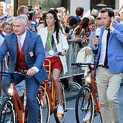 NLD/Den Haag/20160824 - Huldiging sport Rio 2016, Naomi van As en Maartje Paumen