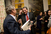 NICK MASON; CHARLES GLASS, Book launch for American's in Paris by Charles Glass hosted by Lady Annabel Lindsay. Holland Park. London. 25 March 2009 *** Local Caption *** -DO NOT ARCHIVE-© Copyright Photograph by Dafydd Jones. 248 Clapham Rd. London SW9 0PZ. Tel 0207 820 0771. www.dafjones.com.<br /> NICK MASON; CHARLES GLASS, Book launch for American's in Paris by Charles Glass hosted by Lady Annabel Lindsay. Holland Park. London. 25 March 2009