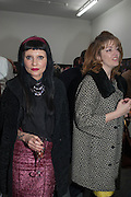 PRINCESS JULIA; PETRONELLA WYATT; , Nicola Tyson exhibition of photographs: Bowie Nights at Billy's Club London 1978. Sadie Coles HQ. 9 Balfour Mews, London W1. 25 January 2013.