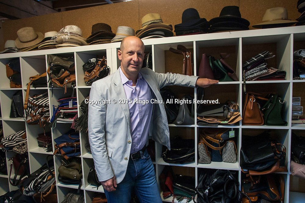 Andy Solomon, chief executive of shoe brand Sole Society.<br /> (Photo by Ringo Chiu/PHOTOFORMULA.com)