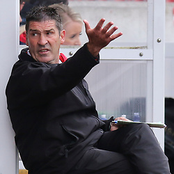 Pictured: Jim Chapman<br /> <br /> Clyde have parted company with manager Jim Chapman after a run of three defeats in Scottish League Two.