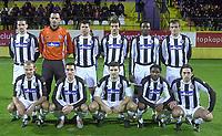 5.2.2005 Kundu-Antalya(Turkey)<br />Partizan-Hajduk Split test match on Topkapi fotball center<br />Partizan team photo all actuel players withouth sasa ilic<br />Foto:Aleksandar Djorovic