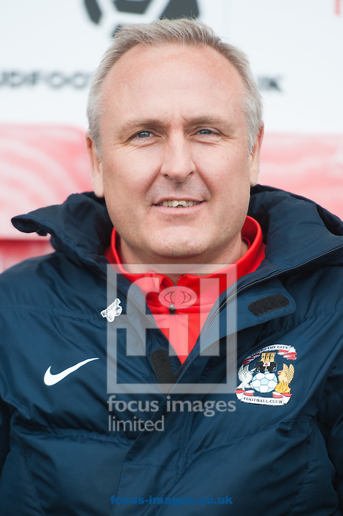 Coventry City caretaker manager Mark Venus during the first round FA Cup match at the Globe Arena, Morecambe<br /> Picture by Matt Wilkinson/Focus Images Ltd 07814 960751<br /> 06/11/2016
