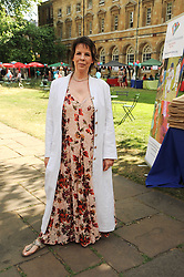 Actress LYNNE MILLER at the Lord's Taverners Diamond Jubilee Garden Party held in College Gardens, Westminster Abbey, London on 8th July 2010.