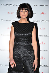 © Licensed to London News Pictures. 10/02/2012. London, England. Dawn Porter attends a private dinner ahead of sundays Bafta awards hosted by William Banks-Blaney of WilliamVintage and actress Gillian Anderson at St Pancras Renaissance Hotel London  Photo credit : ALAN ROXBOROUGH/LNP