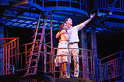 "07/08/2013. ""WEST SIDE STORY"" returns to Sadler's Wells Theatre from Wednesday 7 August - Sunday 22 September 2013. This production is directed and choreographed by Joey McKneely using the full original Jerome Robbins choreography. Picture shows Liam Tobin (Tony) & Elena Sancho Pereg (Maria)."