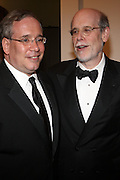 l to r:  Manhattan Borough President Scott Stringer and Harold Holzer(Chief Historian) at The New York Historical Society's History Makers Award Gala honoring President Bill Clinton and opening of the exhibition ' Lincoln and New York ' held at The New York Historical Society on October 7, 2009 in New York City.