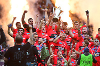 Joie Toulon - 02.05.2015 - Clermont / Toulon - Finale European Champions Cup -Twickenham<br />Photo : Dave Winter / Icon Sport