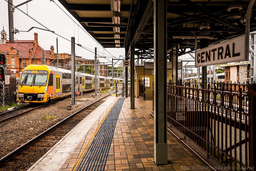 Platform, Central Train Station