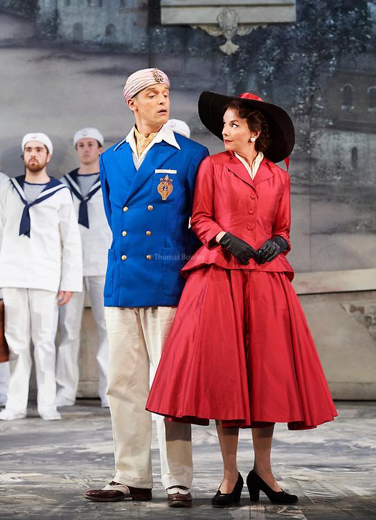 23nd June 2017.Il Turco in Italia, Rossini  at Garsignton Opera. <br /> <br /> <br /> Fiorilla - Sarah Tynan<br /> Selim - Quirijn de Lang
