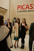 ALEX PAKENHAM; CLIO PAKENHAM, Picasso and Modern British Art, Tate Gallery. Millbank. 13 February 2012