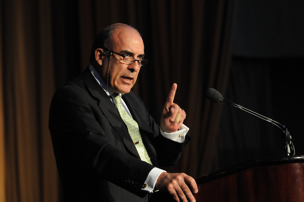 The CEO and Chairman of Coca-Cola Muhtar Kent, addresses the Economic Club of Washington and the student scholars at the Washington Hilton and Towers