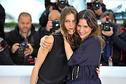 16.MAY.2013. CANNES<br /> <br /> G&Egrave;RALDINE PAILHAS AND MARINE VACTH ATTENDS THE JEUNE &amp; JOLIE PHOTOCALL DURING THE 66TH ANNUAL CANNES FILM FESTIVAL AT THE RIVIERA TERACE IN CANNES, FRANCE.<br /> <br /> <br /> BYLINE: EDBIMAGEARCHIVE.CO.UK/CHRISTIAN ALMINANA/INSIGHTMEDIA<br /> <br /> *THIS IMAGE IS STRICTLY FOR UK NEWSPAPERS AND MAGAZINES ONLY*<br /> *FOR WORLD WIDE SALES AND WEB USE PLEASE CONTACT EDBIMAGEARCHIVE - 0208 954 5968*