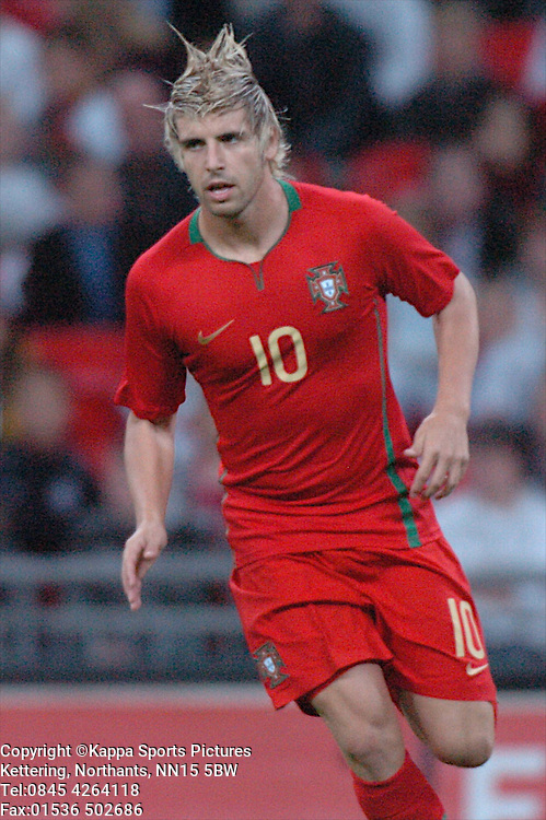 MIGUEL VELOSO, PORTUGAL, England-Portugal Under 21s, EEFA EUROPEAN Under 21 Championship, Wembley Stadium 5th September 2008