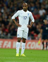 England's Fabian Delph (Aston Villa) - Photo mandatory by-line: Alex James/JMP - Mobile: 07966 386802 - 3/09/14 - SPORT - FOOTBALL - London - Wembley Stadium - England v Norway - International Friendly