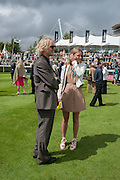 FERGUS BURNAND; LILY BURNAND, Ladies Day, Glorious Goodwood. Goodwood. August 2, 2012