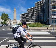 Le Havre, front de mer / Le Havre, sea front.