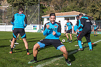 BENAHAVIS - 04-01-2017, Trainingskamp, AZ, AZ speler Alireza Jahanbakhsh