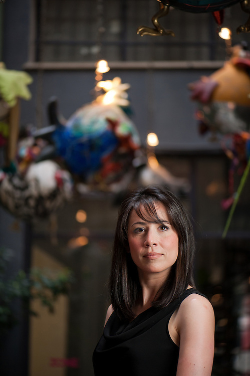"Natalia Dadidou 40 , Author of the book ""Abacus"""