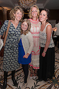 REBECCA NICOLSON; FRANKIE NICOLSON; CLEMMIE MACMILLAN-SCOTT; NELL CAMPBELL, Juliet Nicolson - book launch party for  her latest novel Abdication, about British society after the death of George V.  The Gallery at The Westbury, 37 Conduit Street, Mayfair, London, 12 June 2012