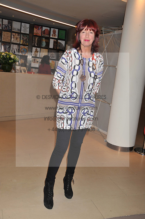 JANET STREET-PORTER at the Lighthouse Gala Auction in aid of The Terrence Higgins Trust held at Christie's, 8 King Street, St.James' London on 19th March 2012.