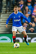 Ryan Jack (#8) of Rangers FC during the Group G Europa League match between Rangers FC and FC Porto at Ibrox Stadium, Glasgow, Scotland on 7 November 2019.