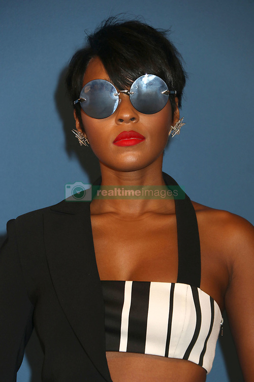 June 5, 2017 - New York, New York, U.S. - Singer/actress JANELLE MONAE attends the 2017 CFDA Fashion Awards held at Hammerstein Ballroom (Credit Image: © Nancy Kaszerman via ZUMA Wire)