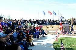 Veterans, their families, friends and supporters gathered on Sunday at the Monterey County Vietnam Veterans Memorial in Salinas for a service remembering their fallen heroes.