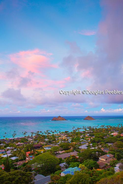 Lanikai, Mokulua Islands, Oahu, Hawaii
