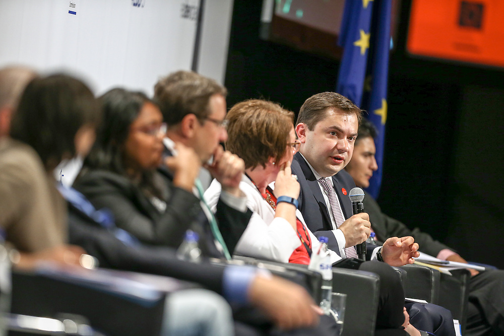 04 June 2015 - Belgium - Brussels - European Development Days - EDD - Citizenship - How can development cooperation effectively fight corruption and promote good governance? - Konrad Pawlik , Undersecretary of State for Development Cooperation , Polish Diaspora and Eastern Policy , Poland © European Union
