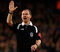 Photo: Daniel Hambury.<br />Crystal Palace v Preston North End. The FA Cup. 07/02/2006.<br />Referee Paul Armstrong.