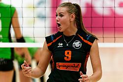 26-10-2019 NED: Dros Alterno - Set Up 65, Apeldoorn<br /> Round 4 of Eredivisie volleyball - Marlies Eertman #9 of Set Up