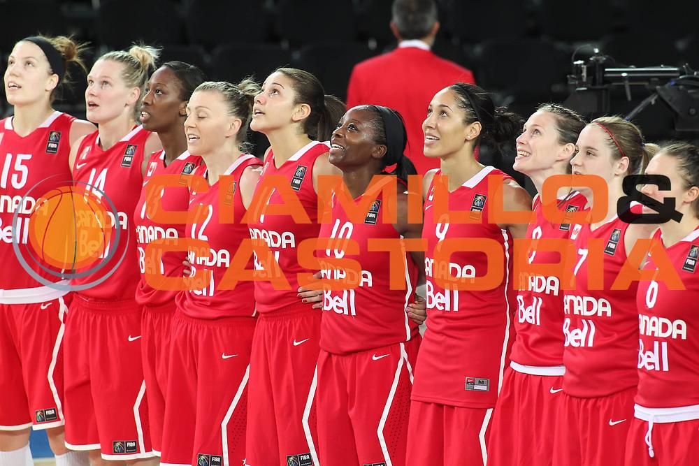 DESCRIZIONE : Ankara Turkey FIBA Olympic Qualifying Tournament for Women 2012 Croatia Canada Croazia Canada<br /> GIOCATORE :<br /> SQUADRA : Canada<br /> EVENTO :  FIBA Olympic Qualifying Tournament for Women 2012<br /> GARA : Croatia Canada Croazia Canada<br /> DATA : 29/06/2012<br /> CATEGORIA : <br /> SPORT : Pallacanestro <br /> AUTORE : Agenzia Ciamillo-Castoria/ElioCastoria<br /> Galleria : FIBA Olympic Qualifying Tournament for Women 2012<br /> Fotonotizia : Ankara Turkey FIBA Olympic Qualifying Tournament for Women 2012 Croatia Canada Croazia Canada<br /> Predefinita :